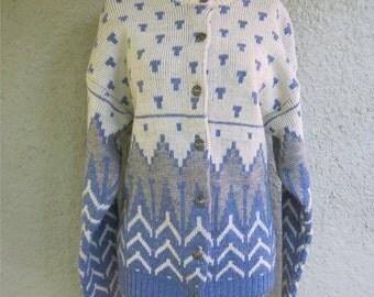 Nordic Sweater - Fair Isle Sweater - Ski Sweater