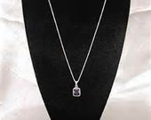 SALE!!! Black Velvet Necklace Stands