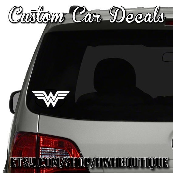 Items Similar To Wonder Woman Car Decal