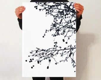 Trees of London Screen-Print.