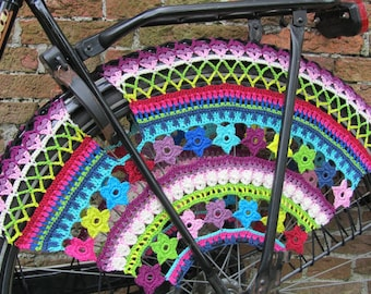 PDF Pattern  Color Burst, Crochet Skirt Guards