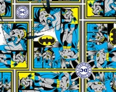 DC Comics Batman- 1 yard of fabric