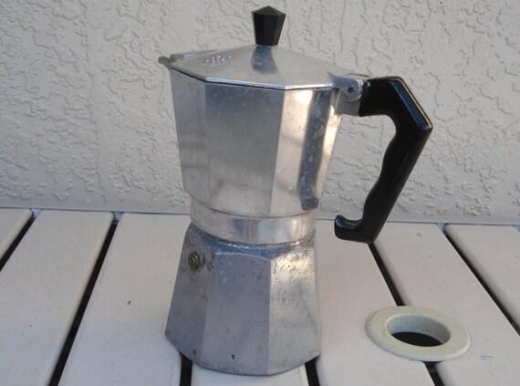 vintage ab crusinallo italy stove top espresso maker. Black Bedroom Furniture Sets. Home Design Ideas