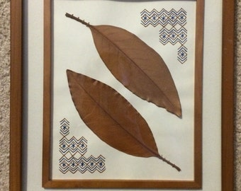 Brown Leaf Art
