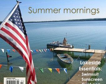 Magazine Bag Duct Tape ANA DELIGHT Summer Mornings
