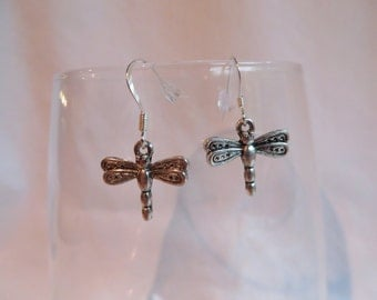 Dragonfly Earrings, earrings, dragonfly, dangle