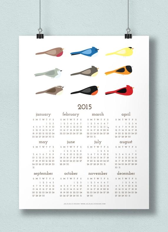 2015 poster calendar