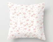 Pillow Cover Indoor, Shabby Chic Roses