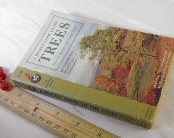 1952 Pocket Guide to the Trees Book  - Reference Guide