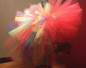 Parrot Bustle Tutu  Great for Birthdays, Photography Prop, and Dance
