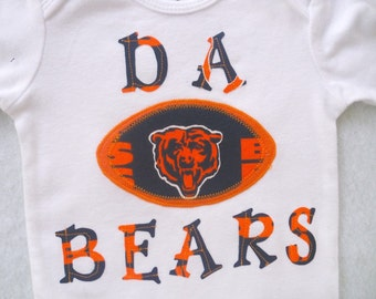 Chicago Bears Bodysuit or Tee shirt / DA BEARS