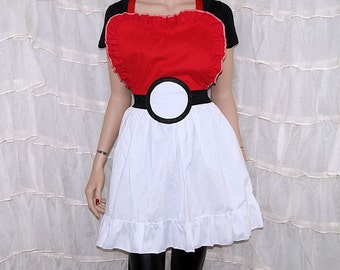 Inspired By Pokemon Cosplay Kitchen Apron MTCoffinz