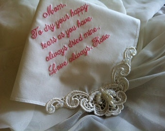 Personalized Wedding Gift for Bride, Mother of Groom, In-Law and Bridal Party