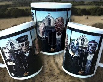 Altered American Gothic Mug