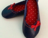 PinUp Shoes Color Navy MSD for Minifee On Box