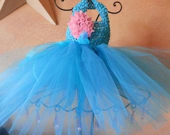 Turquoise Infant Tutu