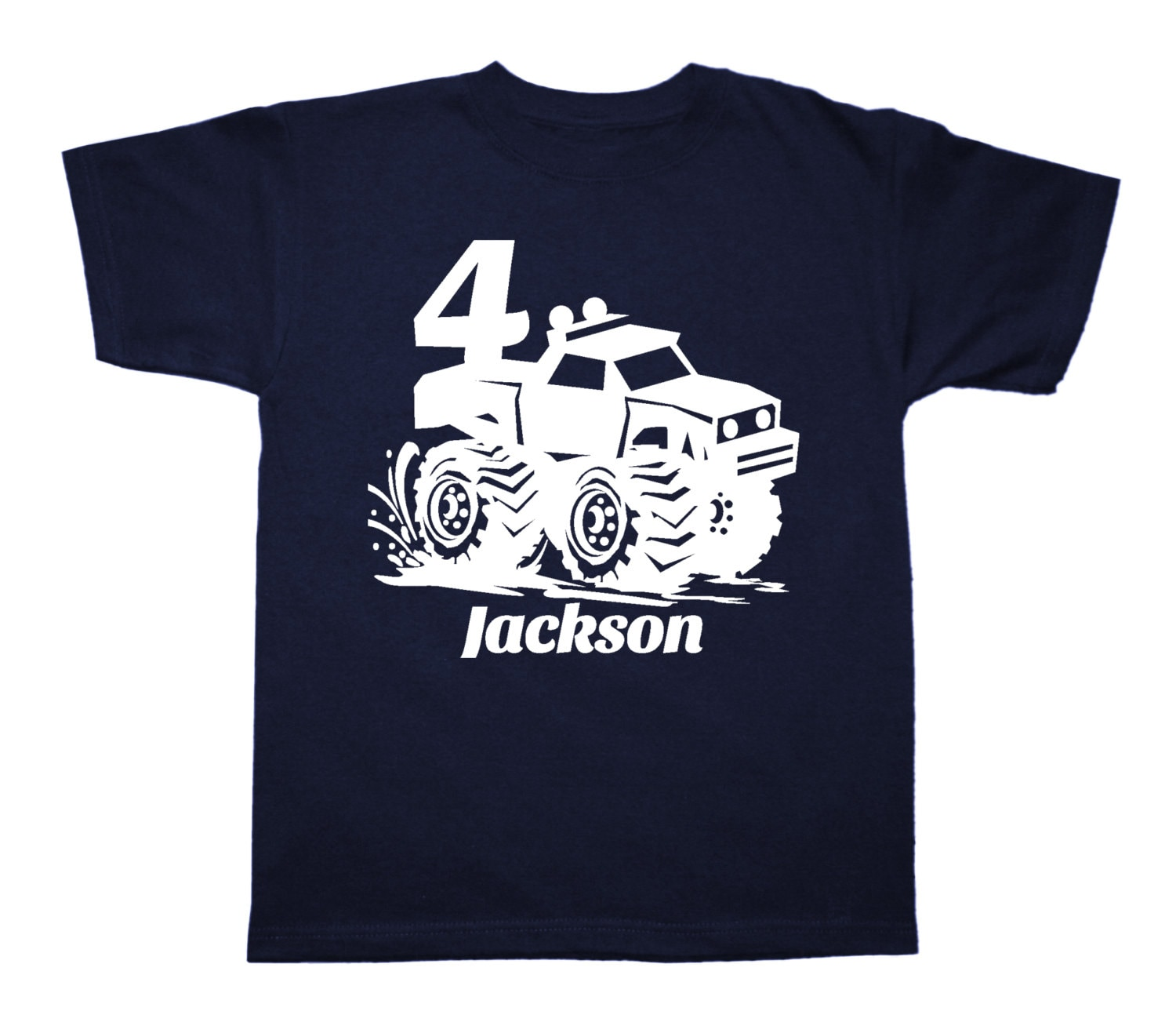 Shirt design jackson tn - Monster Truck Birthday Shirt Personalized Birthday Shirt Any Age And Name Pick Your Colors