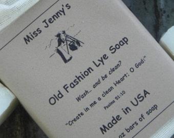 Miss Jenny's Old Fashion Lye Soap