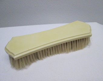 Vintage Clothing Brush, Celluloid, Faux Ivory