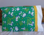 Snoopy Joe Cool - Standard Pillowcase Pair