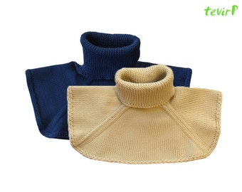 Neck warmer - Adult  100% MERINO wool men women - for Rebecca