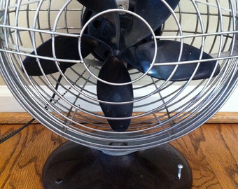 Early Roto Beam Table or Wall Mount Fan