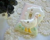 Mother Goose Baby Nursery Room Light Switch Cover