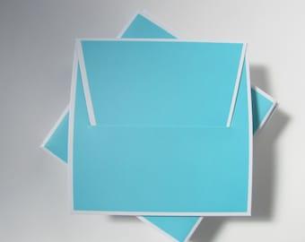 Turquoise Blue CD Sleeves, CD Favor Boxes, cd package, cd envelope