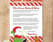 LETTER FROM SANTA printable file