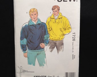 Kwik Sew 1726 Mens jackets