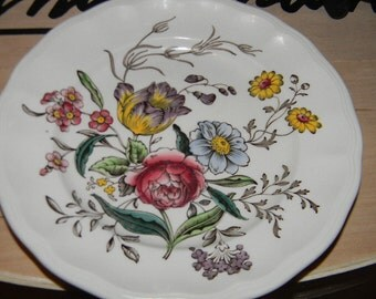 HELD For Debra! SPODE Gainsborough Pattern Lunch plate  by Copeland England ,French country.Shabby Chic.