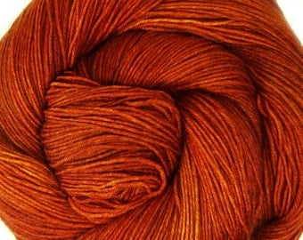 hand dyed sw merino wool nylon sock yarn SINGLE MALT fingering weight