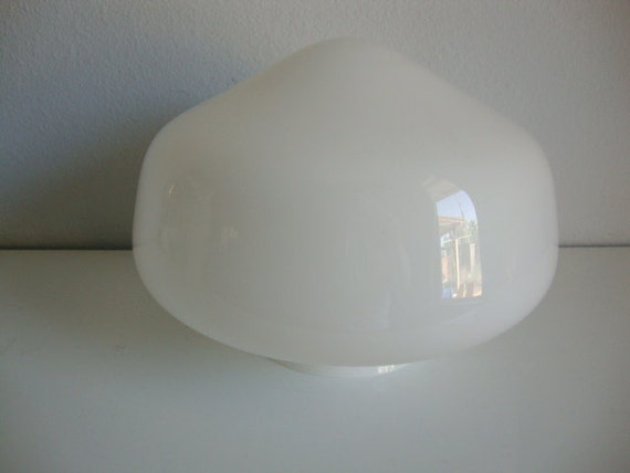 Ceiling light cover only : Ceiling light fixture cover school house type