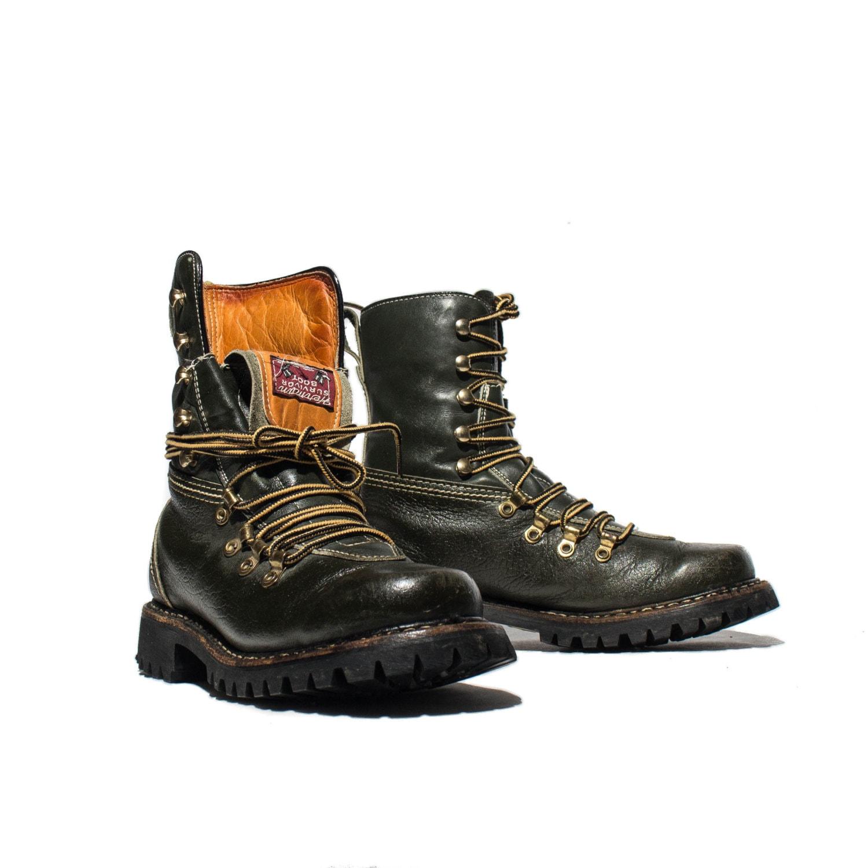 6 5 s herman survivor green sport boots