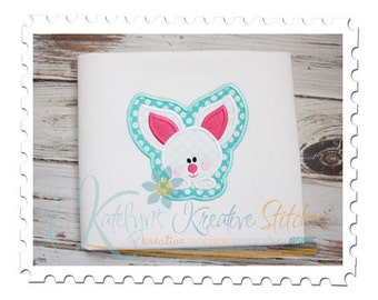 Baby Bunny Framed Applique