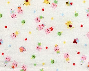 Minny Muu by Lecien - Three Little Pigs in White