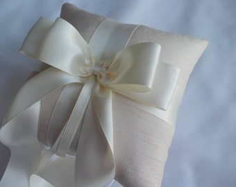 Silk Ring Pillows, Ring Pillow, Silk Pillows, Elegant Ring Pillows