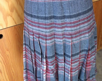 pendleton pleated skirt
