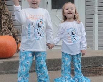 Personalized pajamas | Etsy