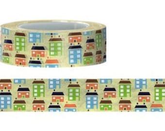 House Washi Tape (15M)