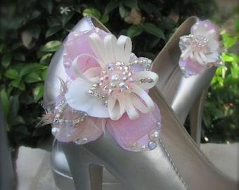 Shoe Clips sweet pink romance