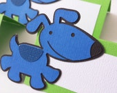 Playful Puppy Food Tags Place Holder Set of 12 By Your Little Cupcake