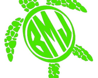 Download Popular items for turtle monogram on Etsy