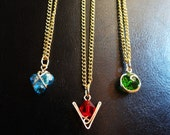 The Legend of Zelda® Crystal Spiritual Stone Set of 3 Necklaces
