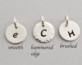 Add on Initial charms, Initial Charm, Personalized Initial, Sterling Silver Charm, Sterling Silver Initial