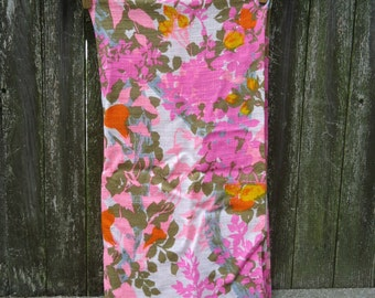Tropical Floral Print Remnant