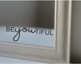 Be-YOU-tiful Vinyl Decal
