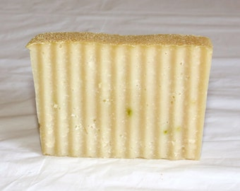 Cucumber Melon Cold Process Soap with Fresh Cucumber and Aloe