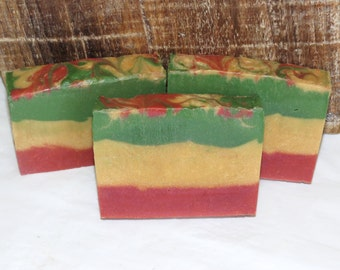 Down the Pipe Luxury Cold Process Rustic Soap with Cocoa Butter