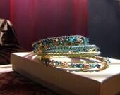 SALE Beautiful Set of Bangle Bracelets